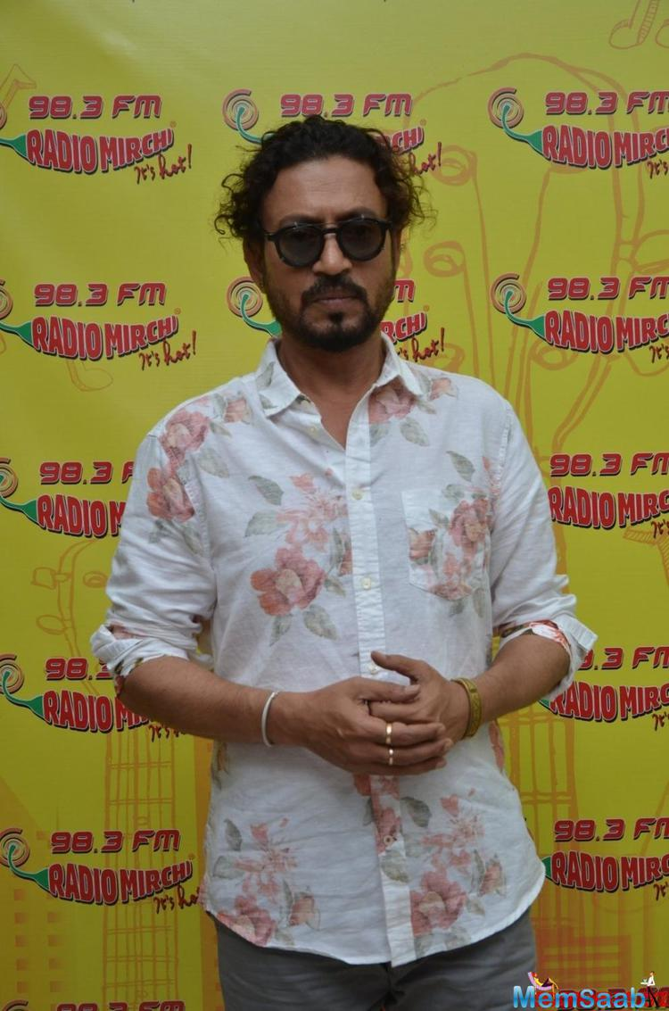 Irrfan Khan, who is currently busy promoting his forthcoming film Madaari, said he doesn't enjoy promotional activities as they don't come naturally to him.