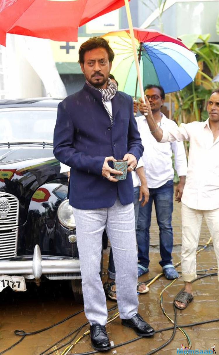 """Madrid is all ready to release on July 15. Irrfan said, """"I don't enjoy promotions, but it's my responsibility,"""