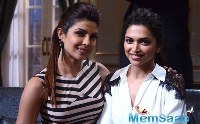 As the rumors mills are overflowing with the reports of a tiff between Deepika and Priyanka, the 'Piku' actress has come forward to clear the air the actress gave a diplomatic answer, Priyanka was clueless about it.