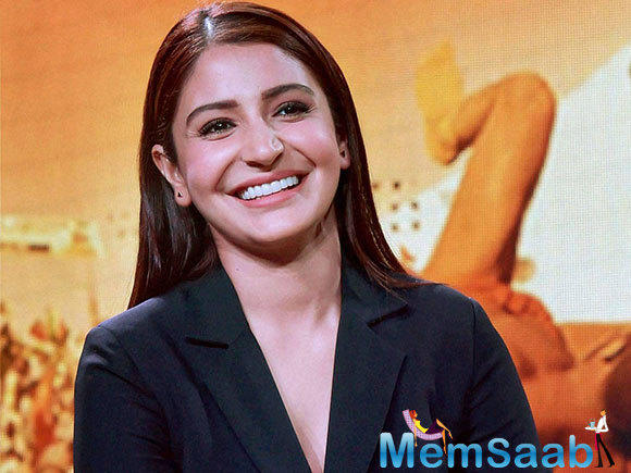 "Anushka stressed on the fact that she is a ""self-made woman"" from a ""normal background"", who ""wants to attain the most"" of the present time."