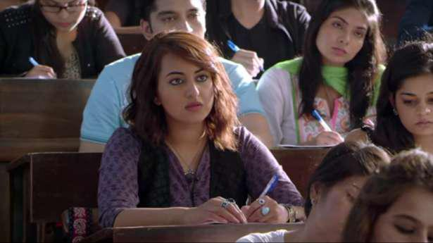 Finally the first trailer of Sonakshi Sinha's much-awaited film Akira is out. The trailer was released on Monday evening at the Lala Lajpat Rai College in Mumbai.