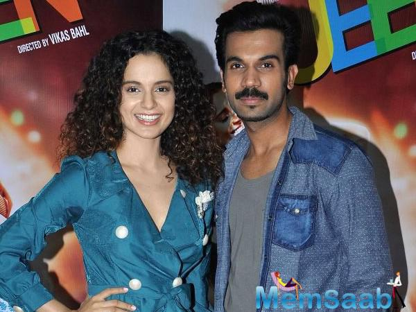 As per the report, Kangana and Rajkummar have been roped in for Hansal's next,