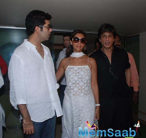 It is said that KJo and SRK are each other's critics, thus, the superstar was not happy with