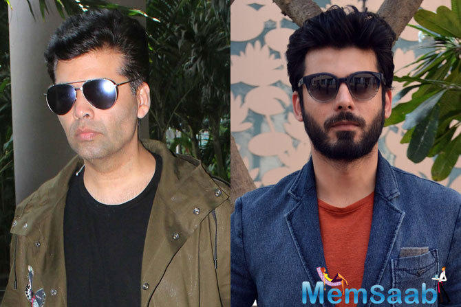 After working together in 'Kapoor & Sons', and the upcoming film, 'Ae Dil Hai Mushkil', both Karan and Fawad get along like a house on fire.They have been spotted together on numerous occasions and have discussed few ideas as well as scripts.