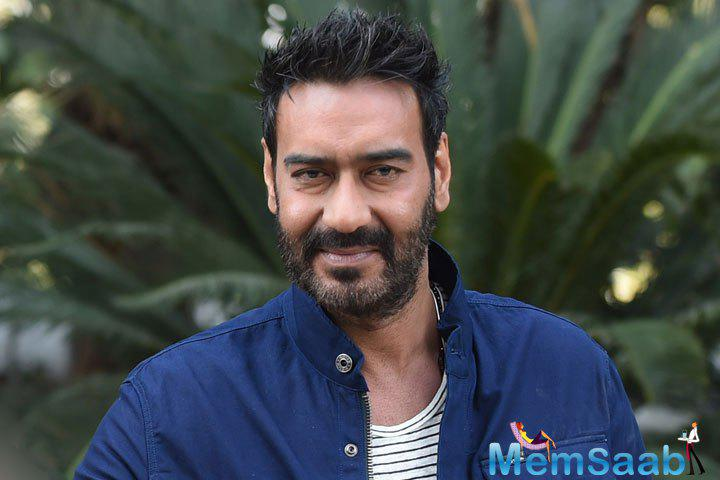 If sources to be believed,  Ajay Devgn might star in a film about Babri Masjid incident