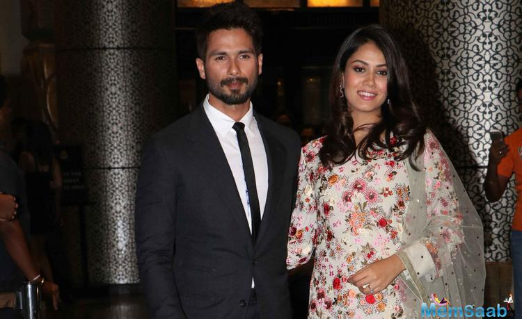 Shahid has also taken time off his acting career and is spending time with Mira before the baby arrives. In the hospital
