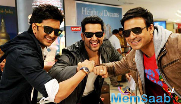 'Great Grand Masti' is an adult comedy starring Riteish Deshmukh, Vivek Oberoi, Aftab Shivdasani and Urvashi Rautela.
