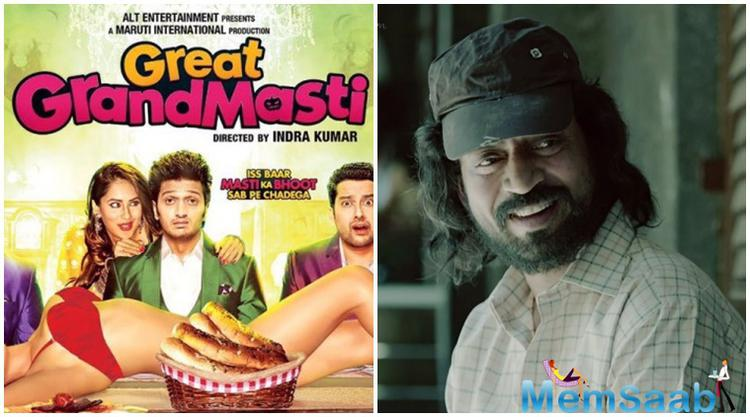 """We're touched by Vashuji's gesture of moving his film ahead by a week on our request,"" Indra Kumar, director of 'Great Grand Masti' said."