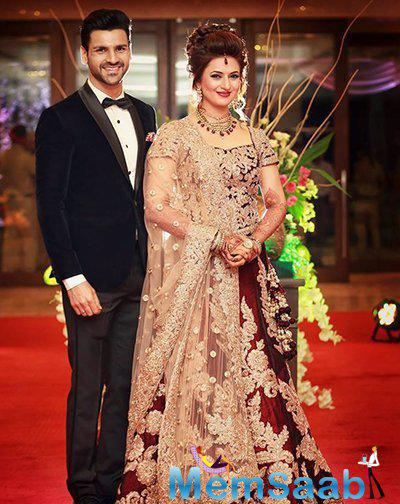 The gorgeous couple Divyanka and Vivek tied the knot on July 8 in Bhopal and the reception party held in Chandigarh, here pics.
