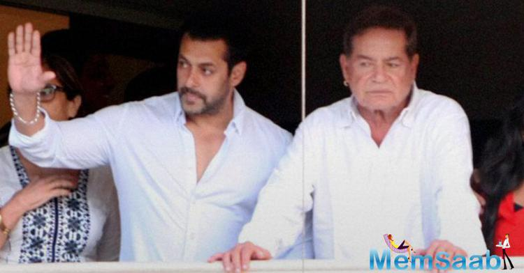Salim Khan, who always protect his son Salman from any type of controversies, this time he fires on the debate on 'Salman someone who was old enough to be a grandpa'.