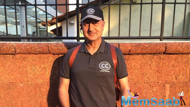 Anupam Kher, who has appeared in 500 films and also appeared in international films, has a wish to do an action film.