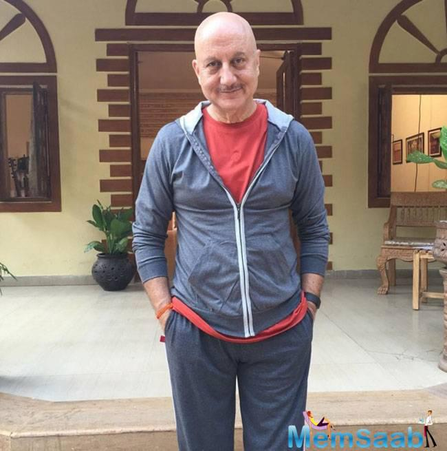 Kher stated, I thought that if I told them that this was what I had planned, they would laugh at me. Plus, they did not notice for a while. I was never fat, so the idea was to be thinner…My mother, of course, is not very happy.