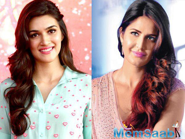 As per the report, Dilwale actress Kriti Sanon may have replaced Katrina Kaif as the brand ambassador for an apparel brand.