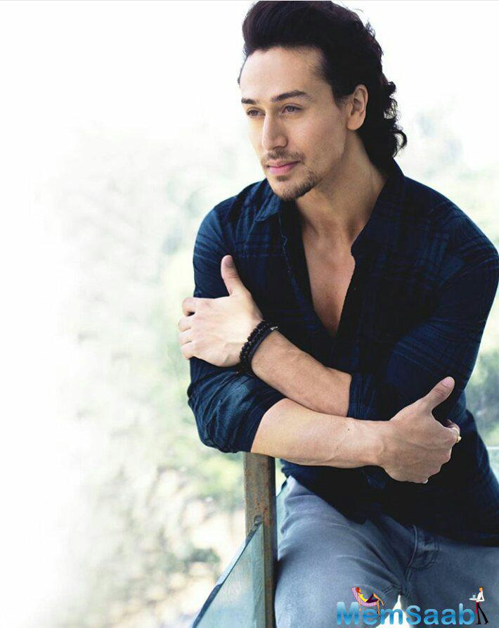 Tiger Shroff,  who act as a superhero in his forthcoming flick 'A Flying Jatt', said dad was my first superhero.