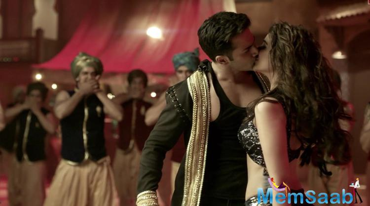 Parineeti Chopra said in her statement at the song launch event Rohit wasn't around at the time and even choreographer Ahmed Khan was unaware of it, so when we locked lips suddenly, everyone was shocked