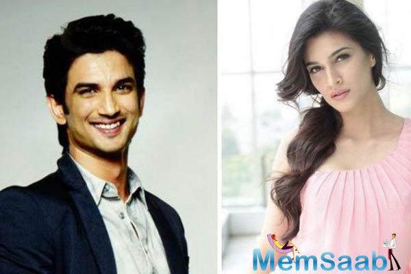 Over the last few weeks rumours about Kriti Sanon dating Sushant Singh Rajput were apparently a publicity stunt.
