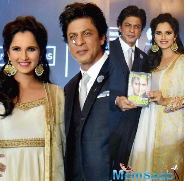"""I couldn't have thought of a better person to do it (the launch). All I had to do is, just say can you (SRK) please come and unveil this very special thing for me. That's all I had to say and he is here,"" Sania said."