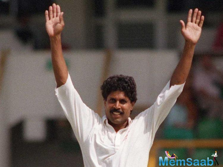 Former Indian cricket team captain Kapil Dev, along with several other members of the '83 squad, met at a suburban Mumbai hotel where Kapil signed off the on rights to Madhu Mantena.