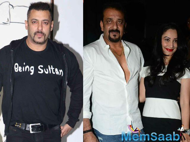 If sources are to be believed, Dutt's wife, Manyata, has been making attempts to get in touch with Salman and convince him to give the friendship another chance.