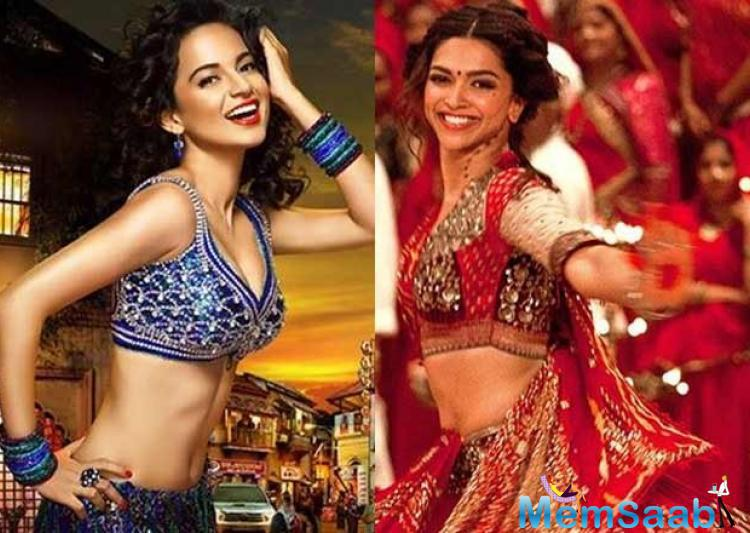 As per the report, Deepika was already finalised for the role and Bhansali had rejected Kangana, feeling that she did not fit the character.