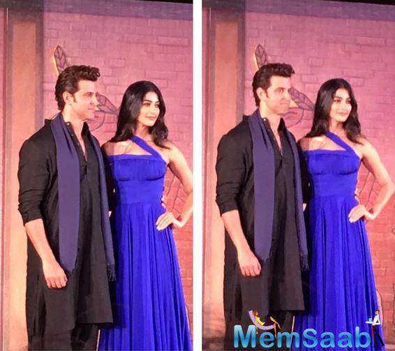 In Mohenjo Daro, Hrithik pair with fresh face Pooja Hegde, and he is delighted that he was to be able to work with the fresh face.