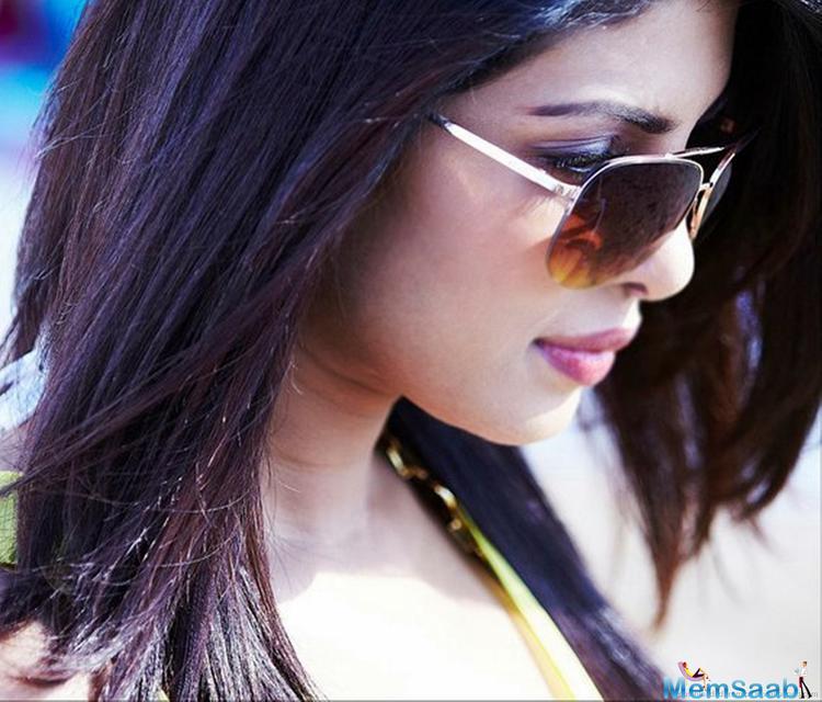Priyanka Chopra was last seen in