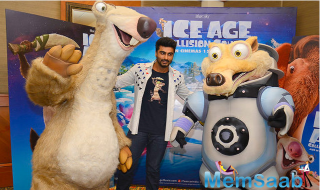 Arjun feels there should be a desire to go and work in another film industry. It's interesting to do a voice-over for a film. Later he said it was a learning curve for me and I enjoyed it