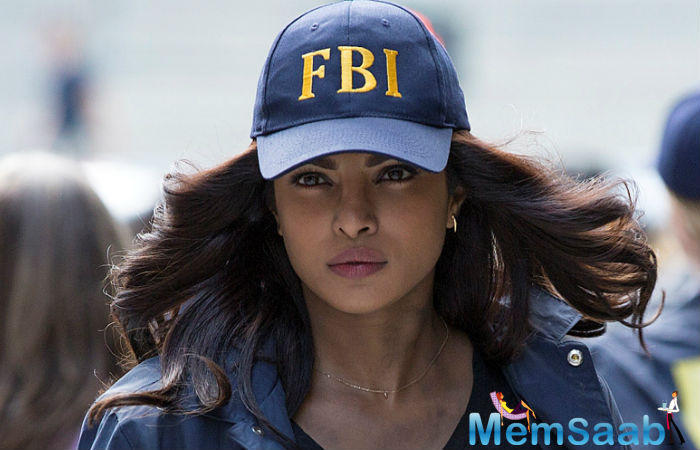 The actress gained immense popularity as FBI rookie Alex Parrish in her American TV show Quantico. Priyanka was in India for a while and now she has begun the shooting of the second season of American TV series