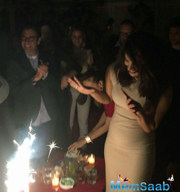 Priyanka Chopra, celebrated her 34th birthday with her Quantico friends in New York. Several pictures from the bash have been doing the rounds on social media.