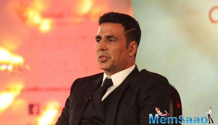 Akshay seems to be in a pensive mood he captioned the picture saying,