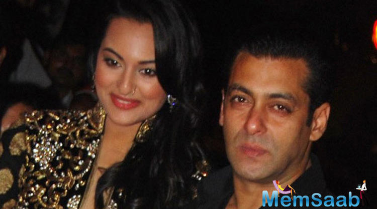 Rumors have it that Salman has been miffed with Sonakshi for turning down brother Arbaaz's