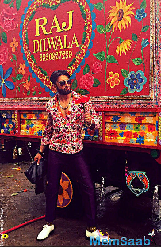"Another introduces the Ranveer Singh as ""Raj Dilwala."" The ad was apparently of Make My Trip. Ranveer and Alia, who are the brand ambassadors of the brand, both were spotted on the sets."