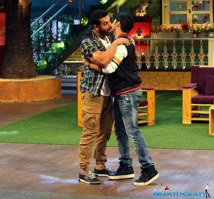 Varun is known for his funny antics and looks like the actor will tickle the funny bone of his fans in the upcoming episode of