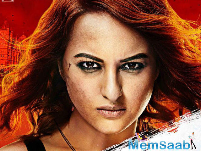 Sonakshi, who busy with her upcoming film Akira, in the news,  on the alleged report of spending night with rumoured boyfriend Bunty.