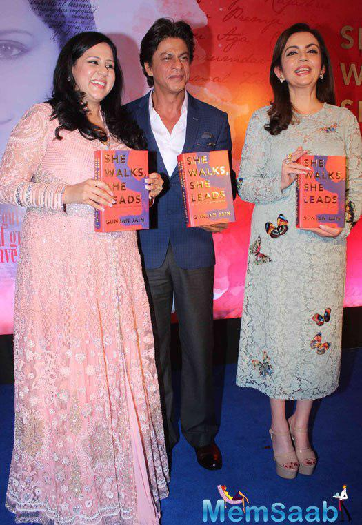 Bollywood Badshah SRK said, the goodness in me has been led by the women in my life, including his grandmother, wife, daughter and those with whom he has worked in the film industry.