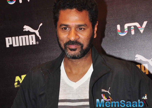 Prabhu Deva, who has been taking the direction sheet for 5 years, Want's to focus exclusively on acting.