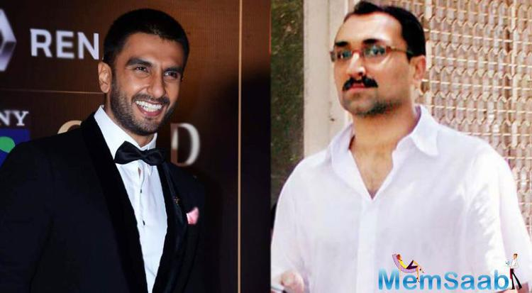 During the shoot of one of the sequences of Aditya Chopra's Befikre, Ranveer was acting like Anil Kapoor, not like himself said Chopra.