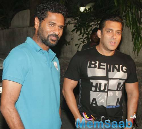 After 7 years, Wanted duo Salman Khan and Prabhu Deva are back again for another movie.