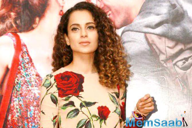 Kangana Ranaut, who is all set to feature in Ketan Mehta's upcoming movie on Jhansi ki rani Laxmibai, said it could be the