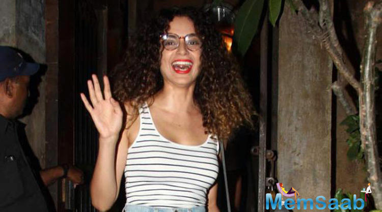 Kangana will appear in an action avatar as she will portray the fierce Rani Laxmibai on the big screen.