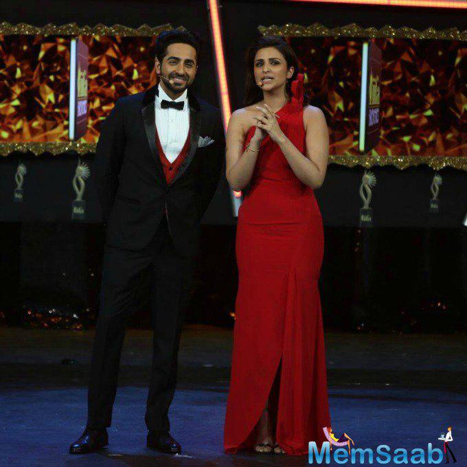 Parineeti says she and Ayushmann Khurrana cannot wait to sing together in their film Meri Pyaari Bindu. Ayushmann and I are both keen students of singing. So a duet is only natural.