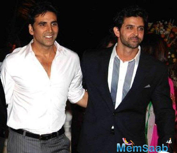 It was reported earlier that Hrithik backed out from