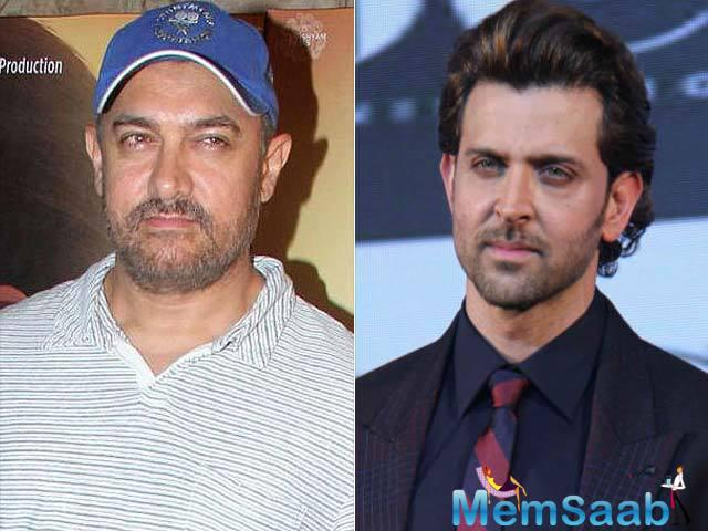 If reports are anything to go by, then it is none other than Aamir Khan, who will replace Hrithik in the