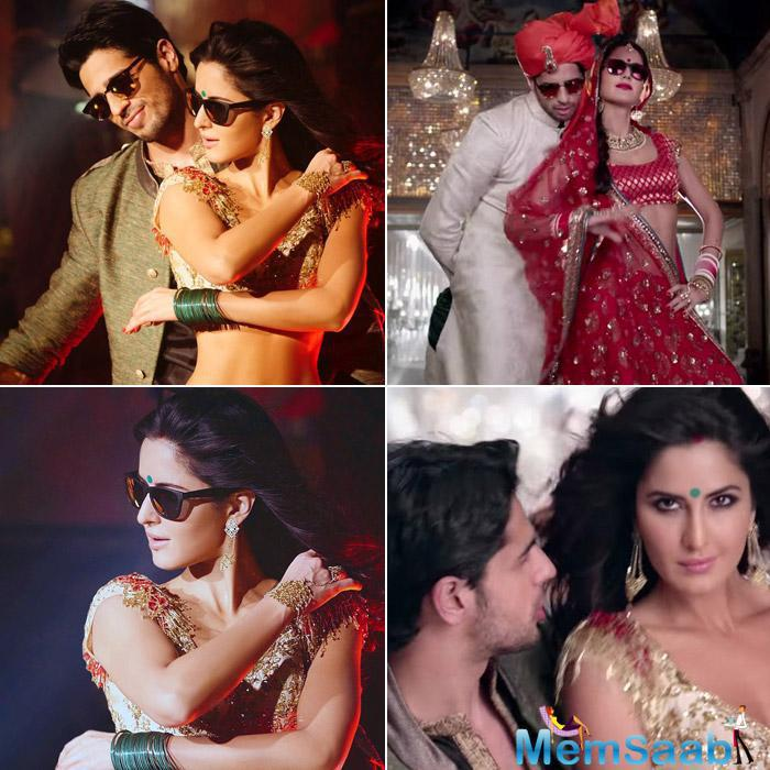 The duo Katrina Kaif and Sidharth Malhotra-starrer Baar Baar Dekho has already created a lot of buzz with its party song 'Kala Chashma'.