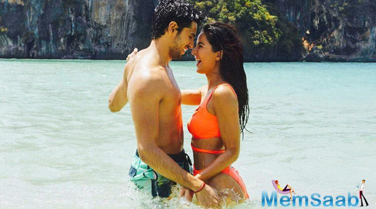 The film Baar Baar Dekho is co-produced by Karan Johar of Dharma Productions, on Saturday, July 30 night, took to Twitter to unveil this sizzling still of duo saying