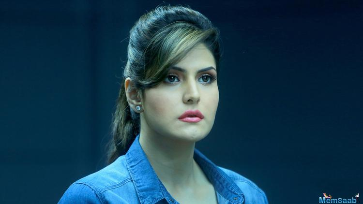 Indian actress and model  Zareen Khan say as a young girl she always wanted to be a singer.Zareen, who recently starred in the hit