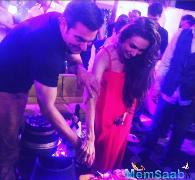 On the occasion of Arbaaz Khan's 49th birthday on Thursday, Malaika took to her social media account to wish