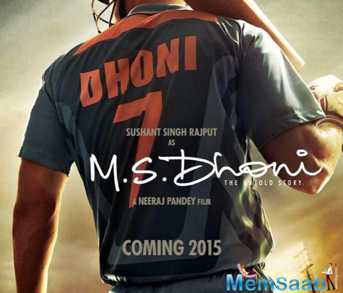 'MS Dhoni: The Untold Story', are leaving no stone unturned to generate curiosity among people and recently they have released a second poster of the film. The film is about the trials and tribulations of MS Dhoni.