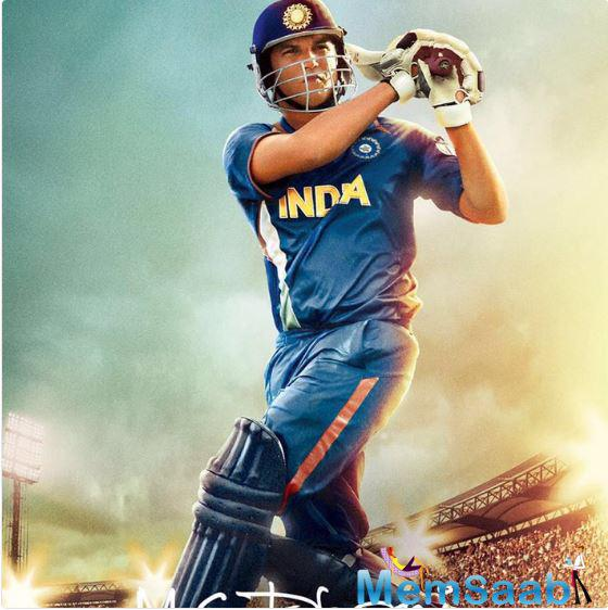 Sushant Singh Rajput, who would be seen portraying the role of ace cricketer Mahendra Singh Dhoni in the film. MS Dhoni - The Untold Story is a biopic film directed by Neeraj Pandey.