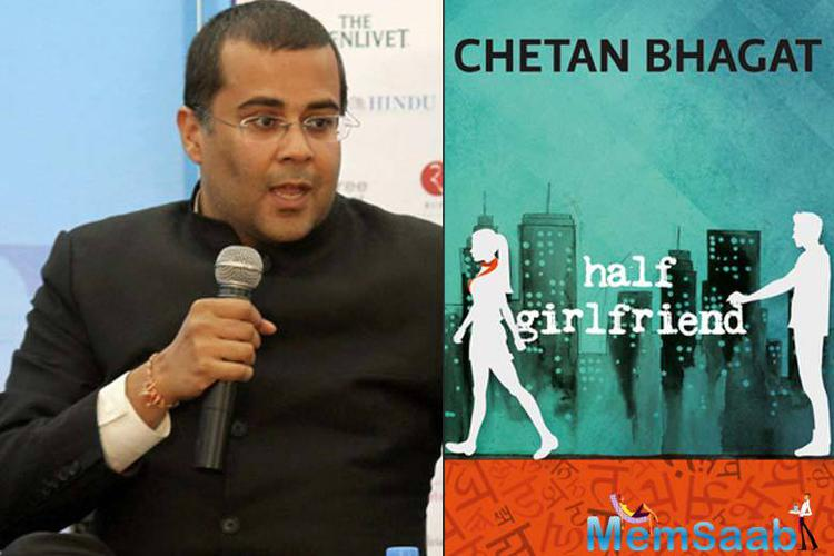 "Chetan Bhagat took his Twitter handle to announce the release date and tweeted, ""Balaji Motion Pictures, Mohit Suri & Chetan Bhagat's #HalfGirlfriend, starring Arjun Kapoor & Shraddha Kapoor, to release on 19 May 2017."""
